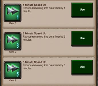 speedups